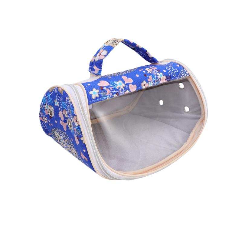 Transparent Visual Small Animals Carriers Portable Pet Takeout Bag Hamster Squirre Hedgehog Bag Small Pet Outdoor Carrying