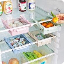 Холодильник, ящик для хранения, кухонная полка для хранения мелочей, холодильник для фруктов, овощей, свежий ящик, полка-контейнер, слой