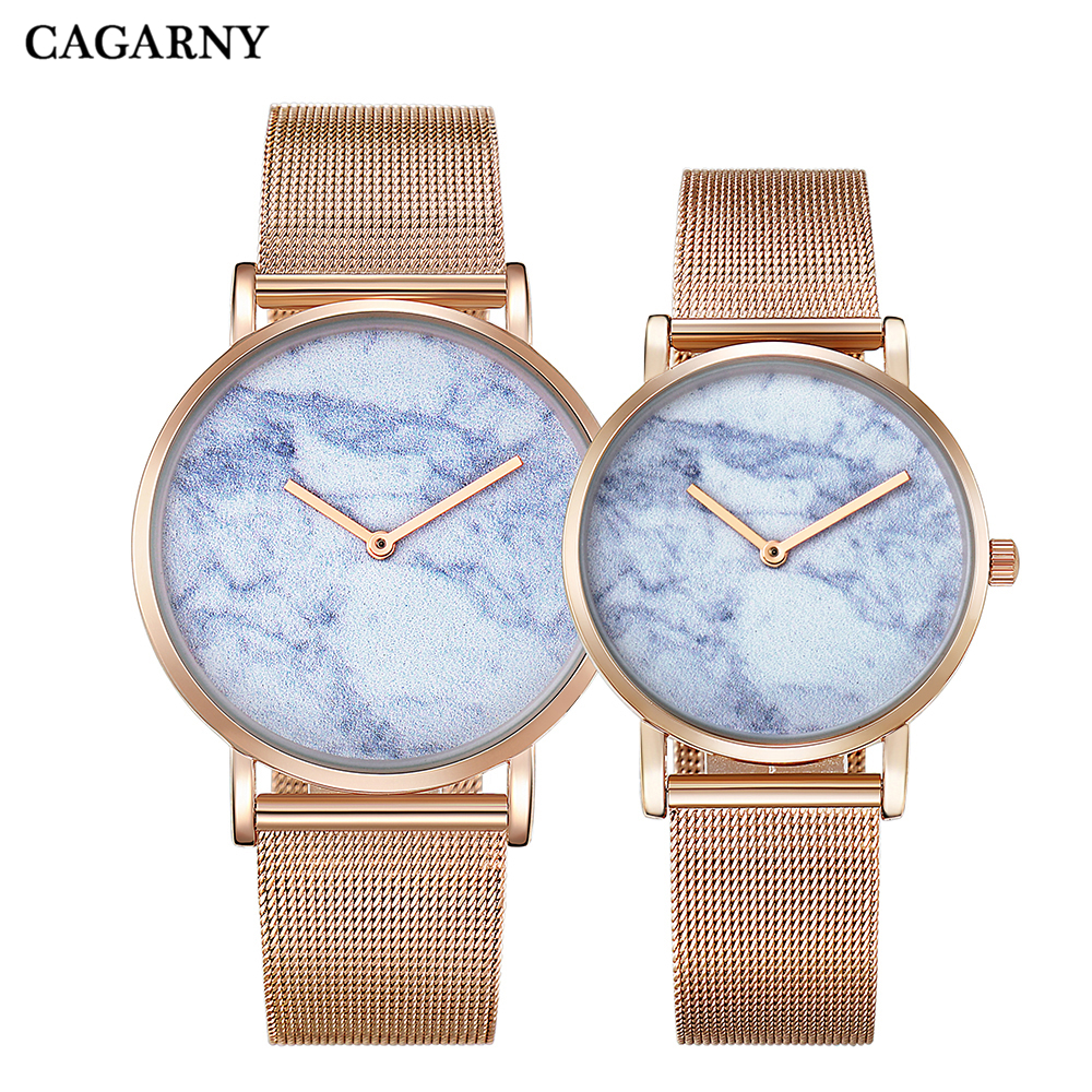 Hot Fashion Creative Watches Women Men Quartz Watch Rose Gold Steel Bracelet Ladies Wristwatches Clock Man Ultra-thin Waterproof