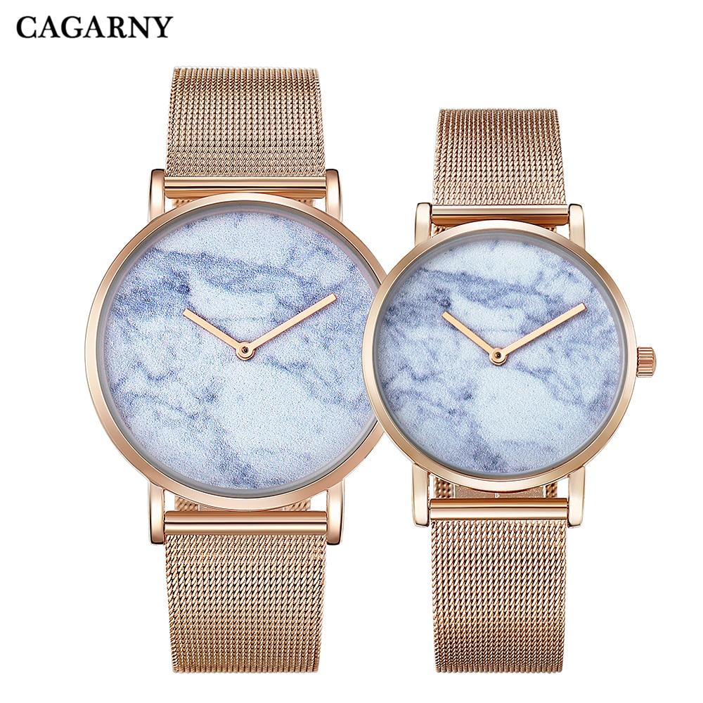 Hot Fashion Creative Watches Women Men Quartz Watch Rose Gold Steel Bracelet Ladies Wristwatches Clock Man Ultra-thin Waterproof