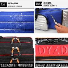 Сумка для удочки, большая емкость, сумка для рыбалки, водонепроницаемая, yu gan bao, многофункциональная рыболовная снасть, сумка для удочки, толстая жесткая оболочка B