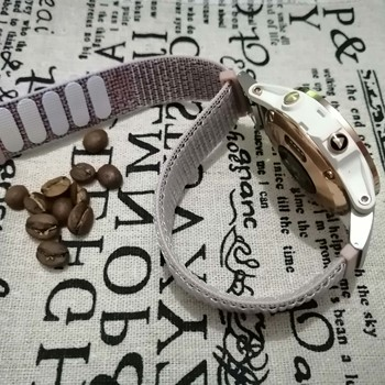 цена на 26mm Sport Nylon Watchband Wriststrap for Garmin Fenix 6X 6 6S Pro 5X 5 5S Plus 3 HR 20 22mm Easy Fit Quick Release wirstband