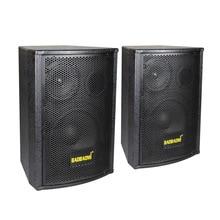 1 пара деревянный пассивный динамик 2,0 Профессиональный динамик s двойной 6,5 дюймов KTV пассивный аудио пассивный динамик s
