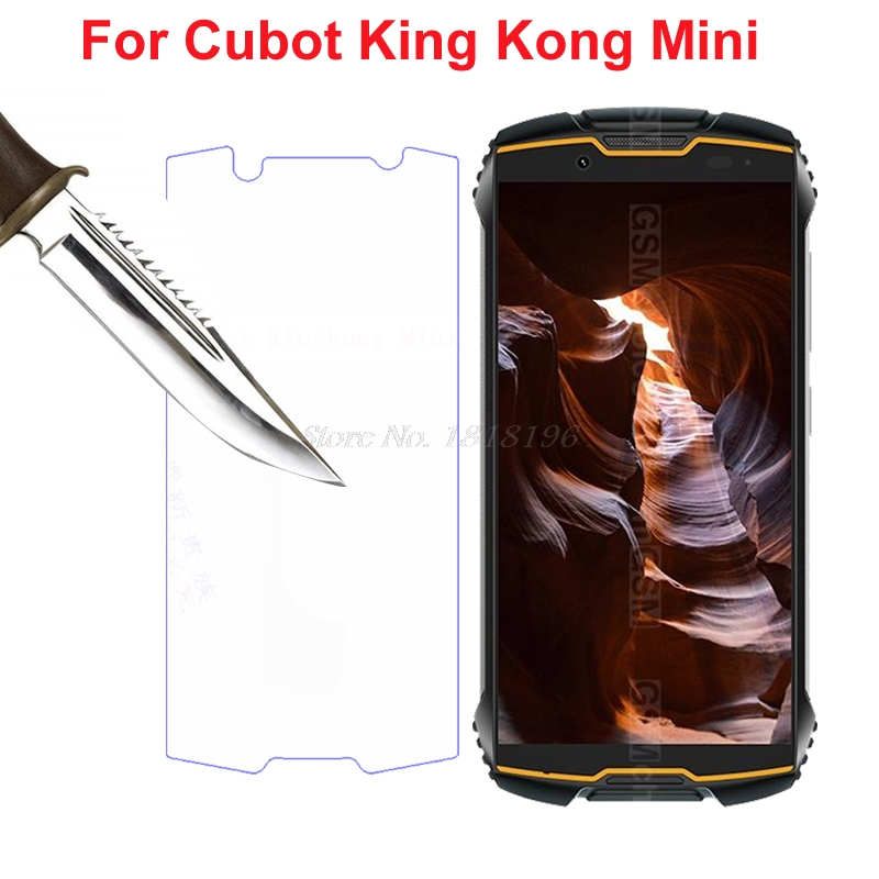 For Cubot KingKong Mini Tempered Glass Explosion-Proof Screen Protector for King Kong Mini 4 inch Front Film Protective Glass