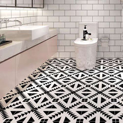 Thicken floor stickers bathroom kitchen wallpaper living room background wall self-adhesive non-slip wear-resistant PVC stickers