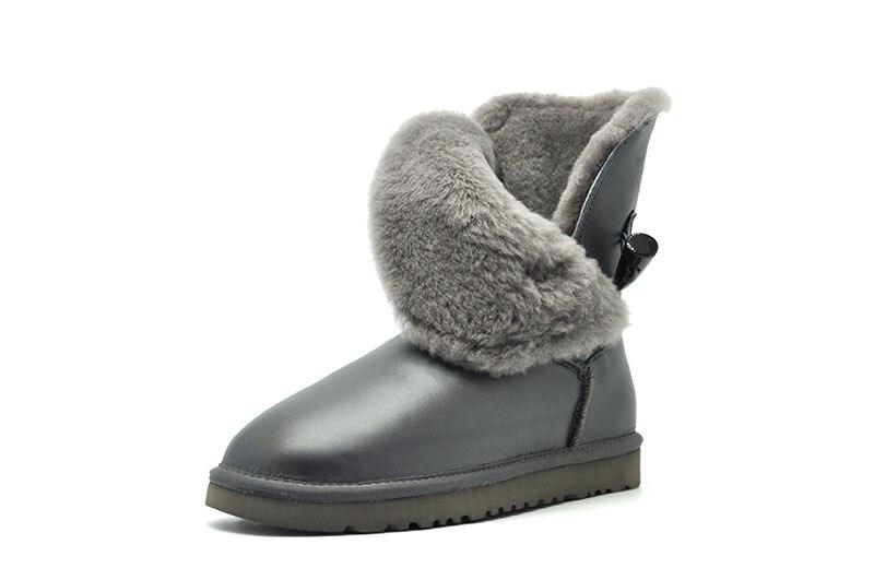 mujer botas à prova dwaterproof água sapatos de inverno para as mulheres