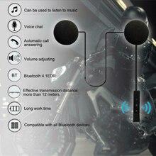 Шлем управления Bluetooth гарнитура Черный Hi-Fi наушники Замена мотоцикла колонки микрофон Handsfree музыка
