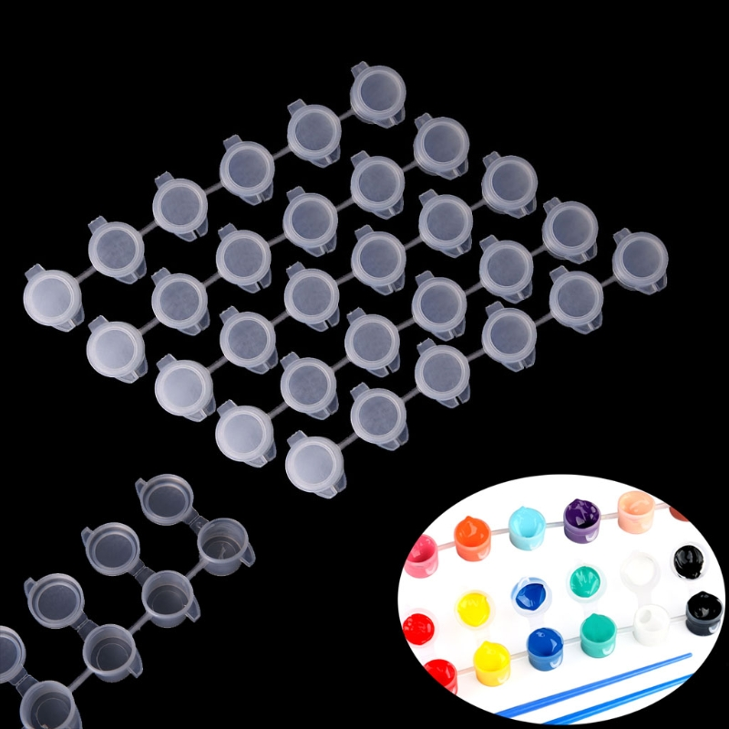 5*6 Pcs Joint Pigment Box Painting Acrylic Paint Supplies Drawing Art Education Wholesale Dropshipping