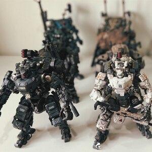 Image 1 - 5 styles JOYTOY 1/25  GOD OF WAR 86  Mecha  Robot Action Figure model Toys Gift For Kids  (2pcs/set)