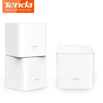 Tenda MW3 Nova Mesh Wireless Wifi Router AC1200 Dual-Band for Whole Home Wifi Coverage Mesh WiFi System Wireless Bridge Repeater 1