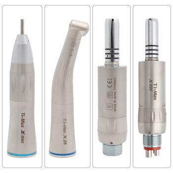 NSK same style Dental Low Speed Handpiece Straight Nose Contra Angle Air Motor Borden/Midwest 2/4Holes B2/M4 X-SG65/X25/X205