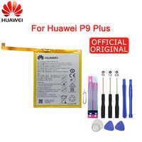 Hua Wei Original Telefon Batterie HB376883ECW Für Huawei Ascend P9 Plus VIE-AL10 3400mAh Ersatz batterien Kostenloser Werkzeuge