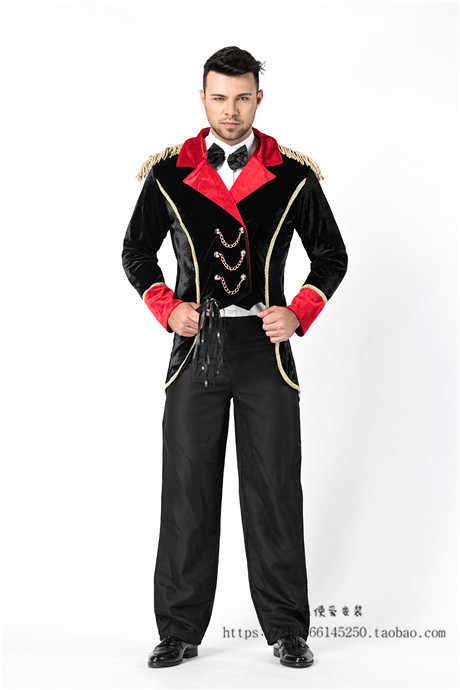 Halloween palhaço mágico Da Disney voltar smoking COSPLAY adulto homens e mulheres casal traje