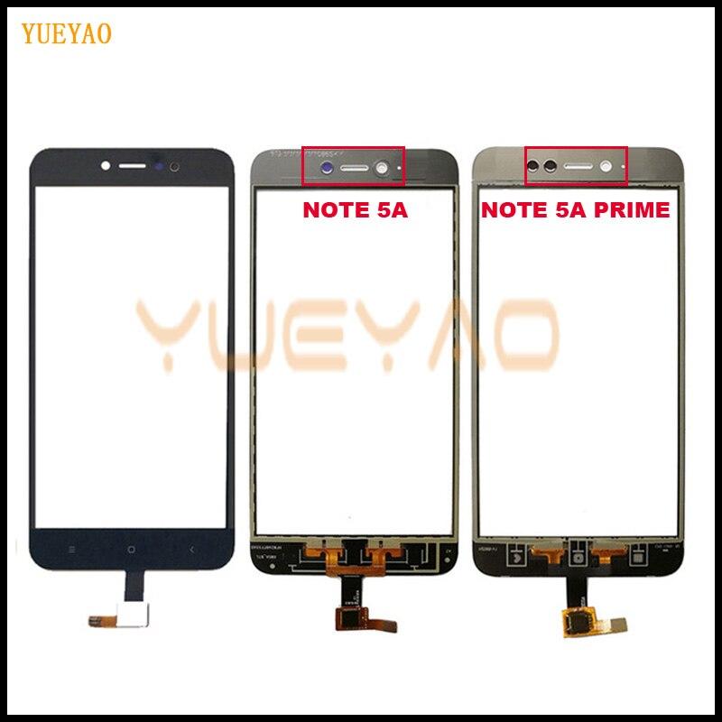 Сенсорный экран 5,5 ''для Xiaomi Redmi Note 5A 5A Prime, дигитайзер сенсорного экрана, сенсор, внешнее стекло, объектив 5A Prime, панель