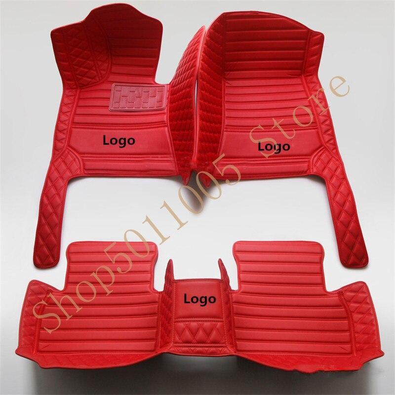 Custom car mats for Hyundai tucson 2019 elantra sonata 2011 veloster santa fe accent 2012 solaris accessories tapis voiture|Floor Mats| |  - title=