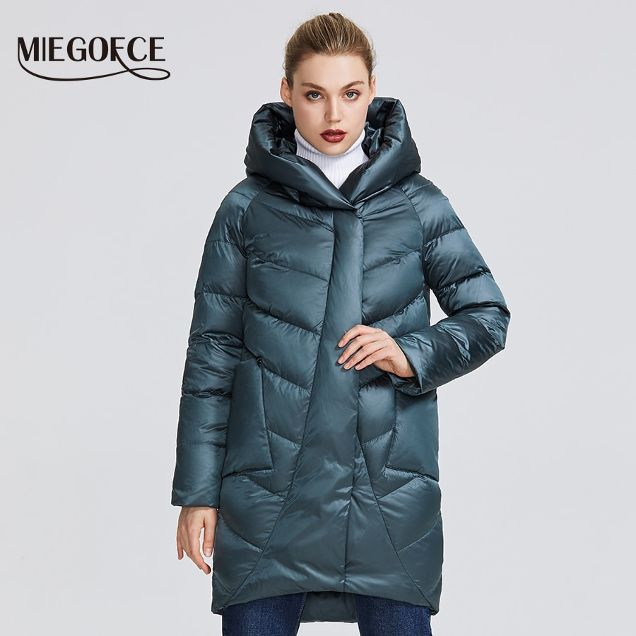 MIEGOFCE 2020 Winter Jacket Women's Collection Warm Jacket With Unusual Design and Colors Winter Coats Gives Charm and Elegance|Parkas| - AliExpress