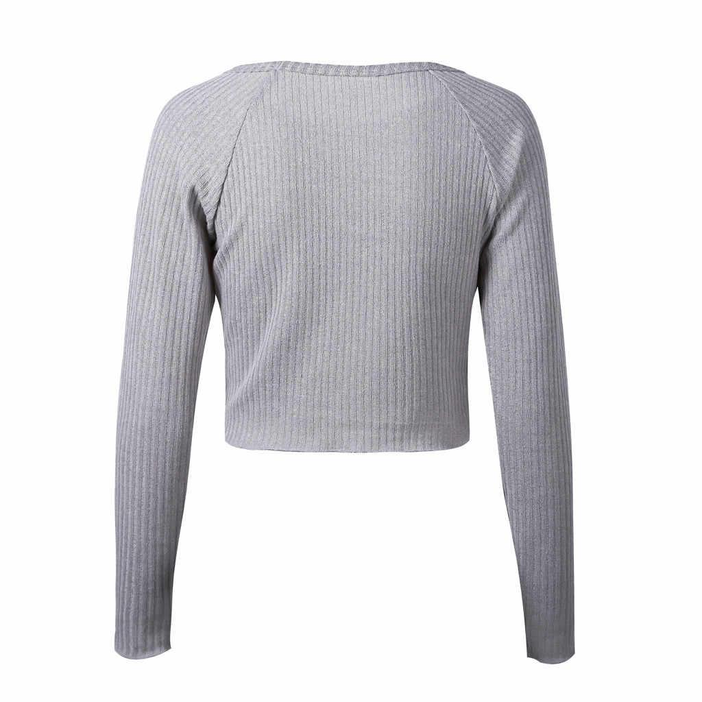 Manica lunga vestiti delle donne 2019 Maglione casual tshirt Outwear Sottile harajuku t shirt donna morbido O neck tank top delle donne streetwear
