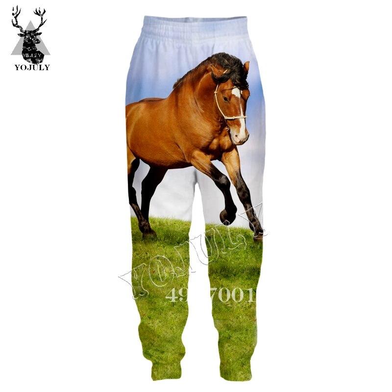 Horse Funny 3D Print Harajuku sweatpants  1