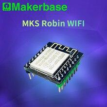 Impressora 3D ESP8266 roteador sem fio WI-FI módulo MKS Robin Robin-WIFI APP controle remoto para MKS V1.0 mainboard alta estabilidade