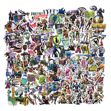 Fortnite Waterproof Cartoon Stickers Sets Collection Classic Game Figure Sticker Toy Children's Christmas Surprise Gifts