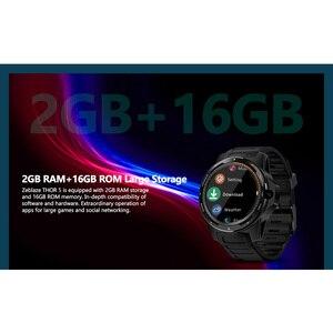"Image 5 - Zeblaze reloj inteligente THOR 5 para hombre, sistema Dual, 2GB + 16GB, Pantalla AMOLED de 1,39 "", 454 x 454px, cámara de 8.0MP, GPS, WiFi, Bluetooth 4,0"