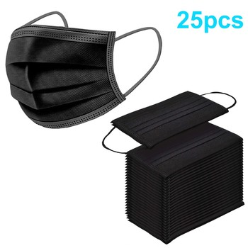 10/15/25PCS In Stock Adults Disposablel Fashion Outdoor Sunscreen Cloth 3ply Ear Loop Bike Outdoor Visors double layer protectio