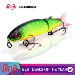 Bearking 2016 хорошая приманка для рыбалки качественная профессиональная блесна приманка 11,3 см 13,7 г плавающая приманка соединенная приманка обо...