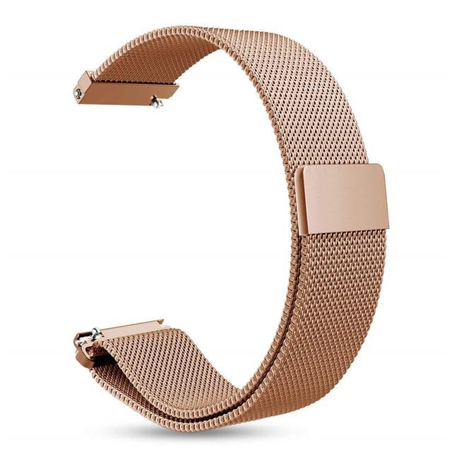 P8 DT78 B57 GTS Strap Milanese Magnetic Loop Stainless Steel Bracelet For P8 S20 Xiaomi GTS Smart Watch  Metal Watchband