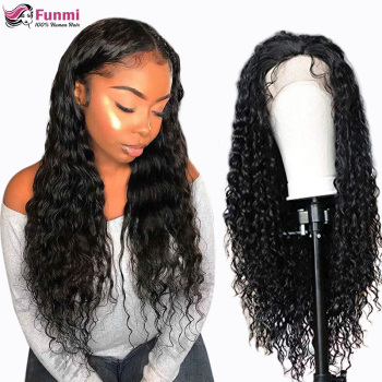 Deep Wave Wig Lace Front Human Hair Wigs 13x4 13x6 For Women Pre Plucked Hairline Remy Hair 360 Lace Frontal Wig Peruvian Curly