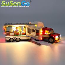 Susengo светодиодный светильник Набор для 60182 город серии