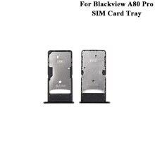 Nowa oryginalna tacka na karty SIM Blackview A80 pro zamiennik dla telefonu A80pro