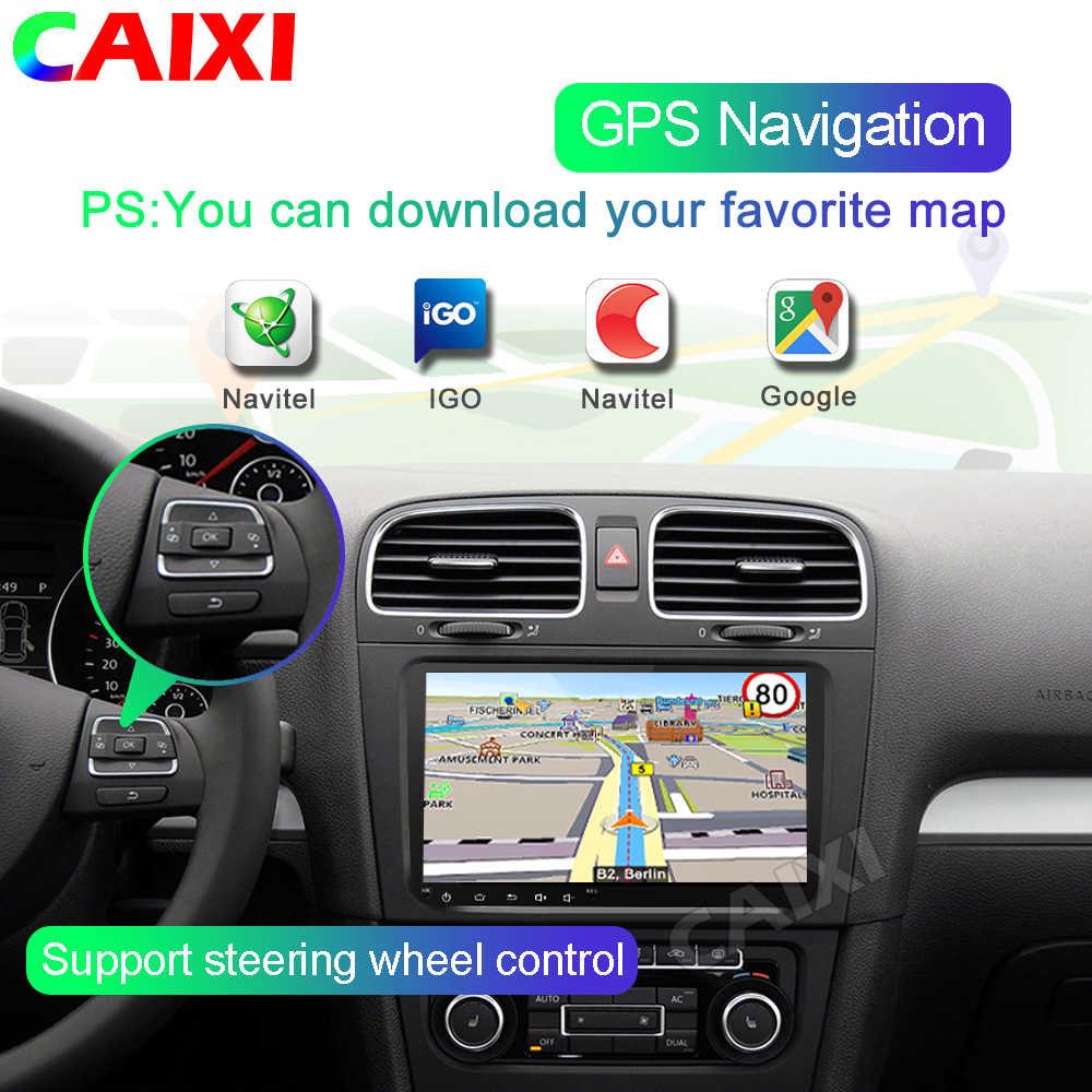CAIXI RAM2G 2din Android 9.0 samochodowe Radio odtwarzacz multimedialny nawigacja GPS dla Volkswagen Nissan Hyundai Kia Toyota nie 2din dvd