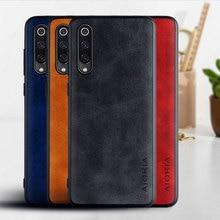 Sprawa dla Xiaomi Mi 9 mi9 se lite Mi 10 Pro Ultra funda luksusowe rocznika skórzany telefon pokrywa dla xiaomi Mi 9 mi9 se mi 10 przypadku capa
