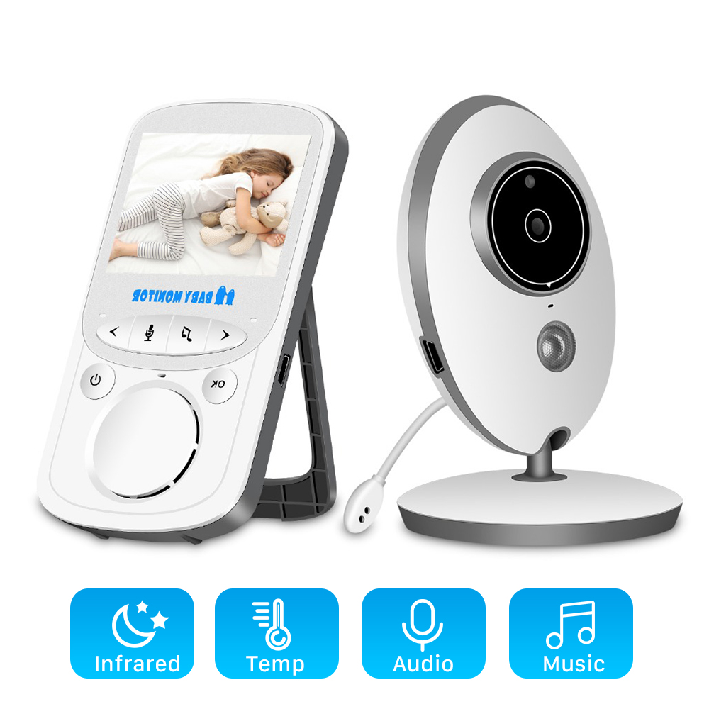 Baby Camera Intercom Walkie-Talkie Radio Nanny Audio Video VB605 Music Portable Wireless