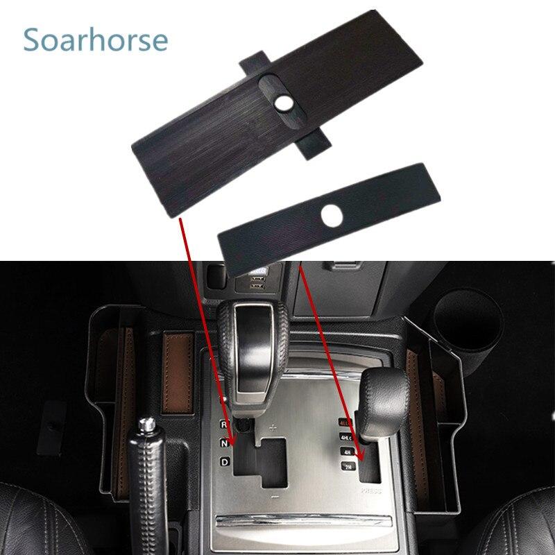 Для Mitsubishi Pajero Montero V93 V87 V97 V73 V77 селекторная консоль переключения передач слепой Пыленепроницаемый Чехол на коробку передач переключатель ре...