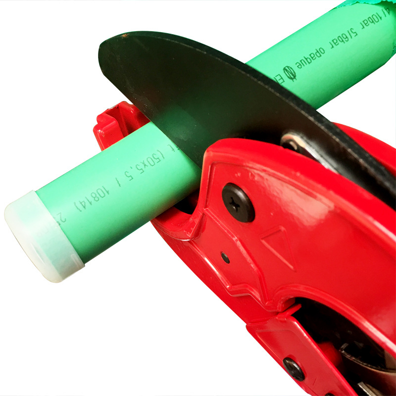 PVC Pipe Cutter PPR Plastic Pipe Scissors 63/75 Size Pipe Shears Long Arm Type Long-Large Size Pipe Shear