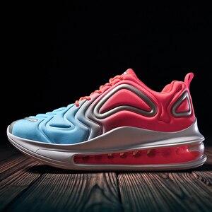 Image 1 - Qzhsmy Mannen Gevulkaniseerd Vrouwen Mutlicolor Schoenen Sneakers Mesh Lente Herfst 2019 Casual Big Size Zapatos Zapatillas Hombre Tenis