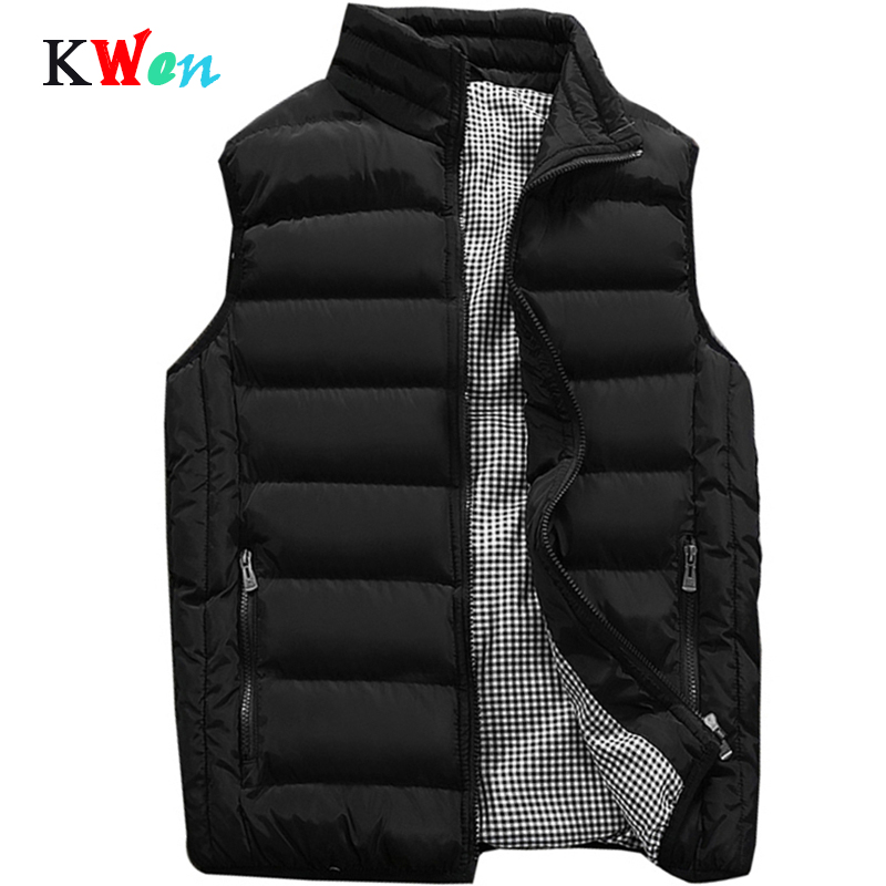 Vest Men New Stylish 2019 Spring Autumn Warm Sleeveless Jacket Men Winter Waistcoat Men's Vest Casual Coats Mens Plus Size 5XL