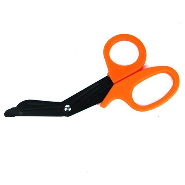 1PC First Aid EMT Shears Emergency Bandage Paramedic Nursing Scissor Cut Outdoor Scissors Safety & Survival Camping & Hiking 2