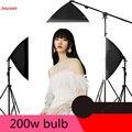 Фотостудия 200 Вт маленькая фотография свет сарай набор чистая красная для студий с живым звуком заполняющий свет CD50 T07