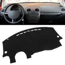 Tapete negro para salpicadero de coche para Volkswagen VW Beetle 1998-2001 2002 2003 2004 2005 2006 2007 2008 2009 2010 LHD