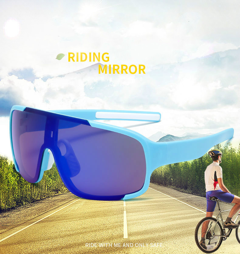 New Outdoor Riding Glasses Men and Women Bicycle Wind and Sand Sports Sunglasses Cycling Sunglasses Polarized