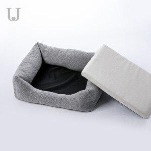 Image 4 - Youpin Jordan & Judy моющееся гнездо для домашних животных, Универсальный Коврик для кошек и собак, теплое переносное дышащее антибактериальное съемное гнездо