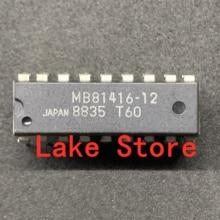 10  unids/lote  MB81416-12 MB81416 DIP nuevo y original