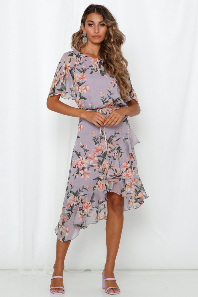 WOMEN'S Dress Thailand Bohemian Seaside Holiday Bali Beach Skirt Women's Summer 2019 New Style