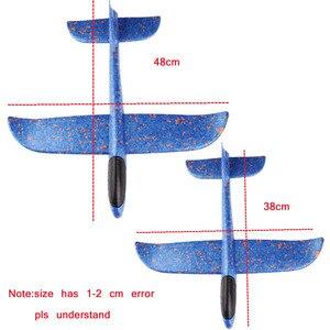Image 3 - Quaslover 38*38 см 48*48 см летающая модель планеры, игрушка, самолет, летающая модель планеры, пенопластовый самолет, игрушки для детей, игры