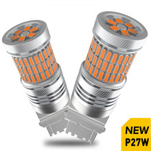 2pcs P27W 3156 T25 LED Canbus Turn Signal Light for Hyundai Solaris Creta ix35 Santa Fe Tucson Elantra i30 Getz Sonata Accent