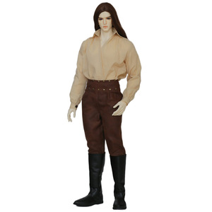 Image 5 - Doll BJD Chandra Fullset Option 1/3 Wild Vintage Long Wig Stylish Male Dreamlover