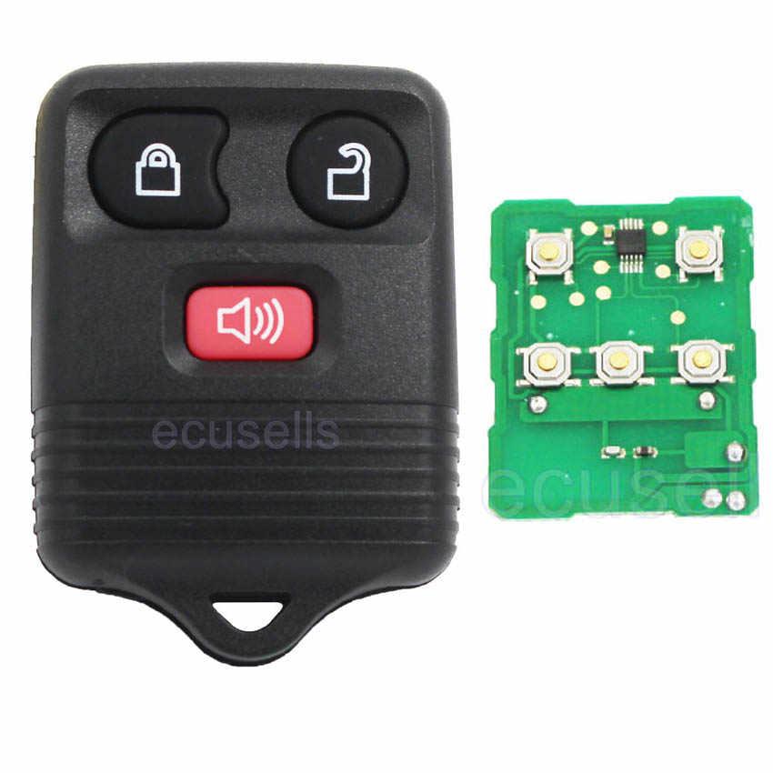 Дистанционный ключ 3 кнопки без ключа для Ford с электроникой и батареей 315 МГц/433