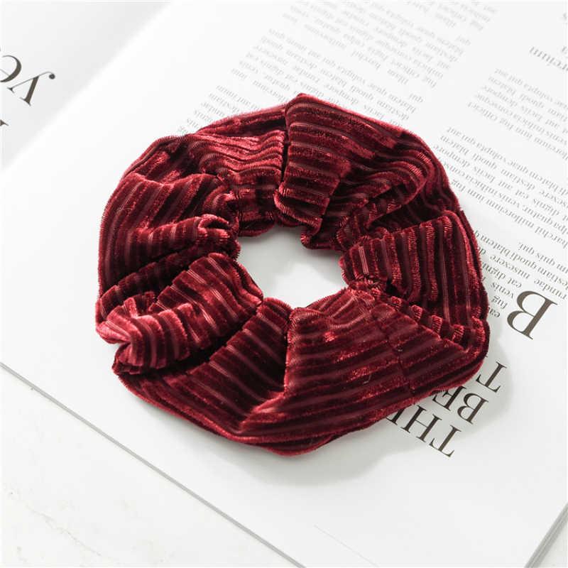 5 สีซาตินวงกลมอุปกรณ์เสริมผมแหวนผมไม่มีรอยต่อหัวผ้าวงกลมดอกไม้ผู้หญิง Headwear ผู้ถือหางม้า
